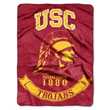 "USC ""Rebel"" Raschel Throw"