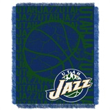 "Utah Jazz NBA ""Double Play"" Woven Jacquard Throw"