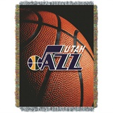"Utah Jazz NBA ""Photo Real"" Woven Tapestry Throw"
