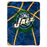 "Utah Jazz NBA ""Shadow Play"" Raschel Throw"