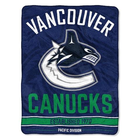 Vancouver Canucks NHL Break Away Micro Raschel Throw