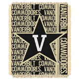 "Vanderbilt ""Double Play"" Woven Jacquard Throw"