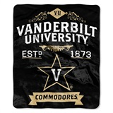 "Vanderbilt ""Label"" Raschel Throw"