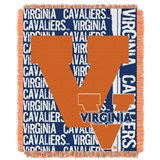 "Virginia ""Double Play"" Woven Jacquard Throw"