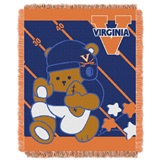 "Virginia ""Fullback"" Baby Woven Jacquard Throw"