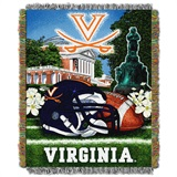 "Virginia ""Home Field Advantage"" Woven Tapestry Throw"