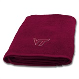 Virginia Tech Applique Bath Towel