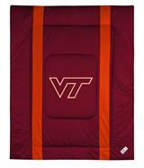 Virginia Tech Hokies Sidelines Twin Comforter