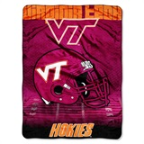 "Virginia Tech ""Overtime"" Micro Raschel Throw"