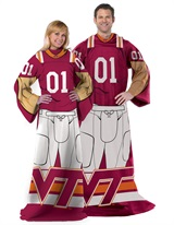 "Virginia Tech ""Uniform"" Adult Comfy Throw"