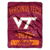 "Virginia Tech ""Varsity"" Micro Raschel Throw"