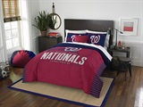 "Washington Nationals MLB ""Grand Slam"" FullQueen Comforter Set"