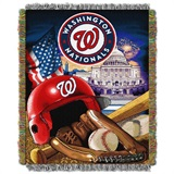 "Washington Nationals MLB ""Home Field Advantage"" Woven Tapestry Throw"