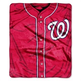 "Washington Nationals MLB ""Jersey"" Raschel Throw"