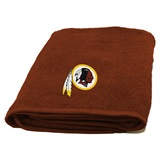 Washington Redskins Appliqué Bath Towel