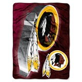 "Washington Redskins ""Bevel"" Micro Raschel Throw"