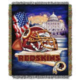 "Washington Redskins ""Home Field Advantage"" Woven Tapestry Throw"