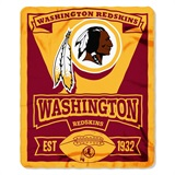 "Washington Redskins ""Marquee"" Fleece Throw"