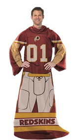 "Washington Redskins ""Uniform"" Adult Comfy Throw"