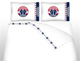 Washington Wizards Micro Fiber Sheet Set Queen