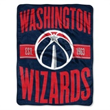 "Washington Wizards NBA ""Clear Out"" Micro Raschel Throw"