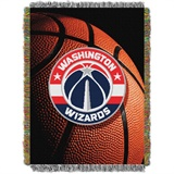 "Washington Wizards NBA ""Photo Real"" Woven Tapestry Throw"