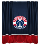 Washington Wizards Sidelines Shower Curtain