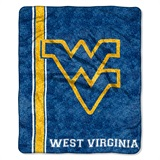 "West Virginia ""Jersey"" Sherpa Throw"