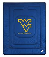 West Virginia Mountaineers NCAA Locker Room Comforter Queen