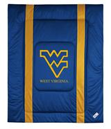 West Virginia Mountaineers NCAA Sidelines Comforter Queen
