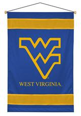 West Virginia Mountaineers NCAA Sidelines Wall Hanging