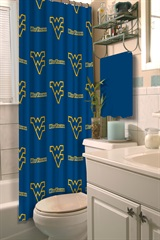 West Virginia Shower Curtain