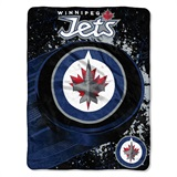 "Winnepeg Jets NHL ""Ice Dash"" Micro Throw"