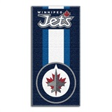 "Winnepeg Jets NHL ""Zone Read"" Beach Towel"