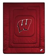 Wisconsin Badgers Locker Room Queen Comforter