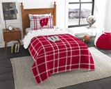 "Wisconsin ""Soft & Cozy"" Twin Comforter Set"