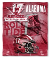 Buy Alabama Crimson Tide team bedding, Comforters, Drapes, and Sheets
