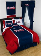 Buy Atlanta Braves team bedding, Comforters, Drapes, and Sheets