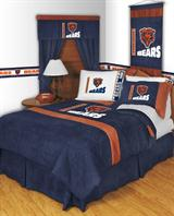 Buy Chicago Bears team bedding, Comforters, Drapes, and Sheets