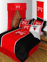 Buy Chicago Bulls team bedding, Comforters, Drapes, and Sheets