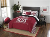 Buy Cincinnati Reds team bedding, Comforters, Drapes, and Sheets