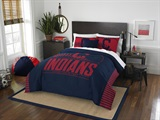 Buy Cleveland Indians team bedding, Comforters, Drapes, and Sheets