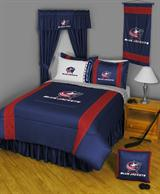 Buy Columbus Blue Jackets team bedding, Comforters, Drapes, and Sheets
