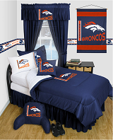 Buy Denver Broncos team bedding, Comforters, Drapes, and Sheets