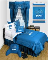 Buy Detroit Lions team bedding, Comforters, Drapes, and Sheets
