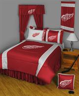Buy Detroit Red Wings team bedding, Comforters, Drapes, and Sheets