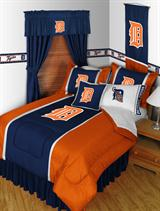 Buy Detroit Tigers team bedding, Comforters, Drapes, and Sheets