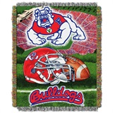 Buy Fresno State Bulldogs team bedding, Comforters, Drapes, and Sheets