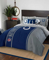 Buy Indianapolis Colts team bedding, Comforters, Drapes, and Sheets