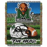 Buy Marshall Thundering Herd team bedding, Comforters, Drapes, and Sheets